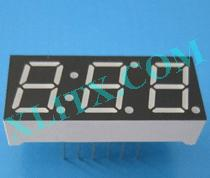 "Blue 7 Segment Display LED 7-Segment 0.39"" 3-Digit Three Common Anode CA"