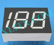 "Blue 7 Segment Display LED 7-Segment 0.45"" 3-Digit Three Common Anode CA"