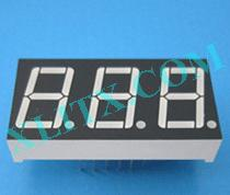 "Blue 7 Segment Display LED 7-Segment 0.56"" 3-Digit Three Common Anode CA"
