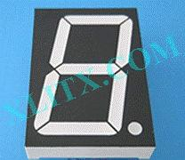 "Blue 7 Segment Display LED 7-Segment 3.0"" 3 inch 1-Digit Single Common Anode CA 3inch"