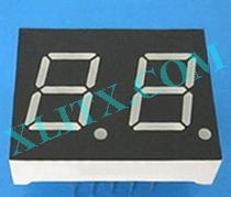 Green 7 Segment LED Display 0.43 inch Dual Digit 2 7-seg CC CA