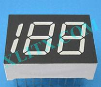Green 7 Segment LED Display 0.45 inch Three Digit 3 7-seg CC CA