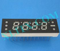 "Orange Seven Segment LED Display 0.25 inch 0.25"" Four Digit 4 Common Anode"
