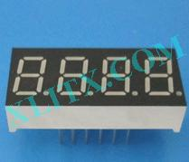 "Orange Seven Segment LED Display 0.36 inch 0.36"" Four Digit 4 Common Anode"