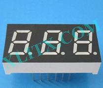 "Orange Seven Segment LED Display 0.4 inch 0.4"" Three Digit 3 Common Anode 0.40inch"
