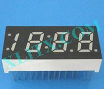 Red Ultra Bright LED 7 Segment Display 0.33 inch Four Digit Common Anode CA