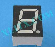 Red Ultra Bright LED 7 Segment Display 0.39 inch Single Digit Common Anode CA