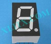 Red Ultra Bright LED 7 Segment Display 0.52 inch Single Digit Common Anode CA