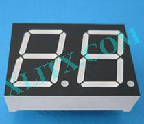 "Red Ultra Bright LED 7 Segment Display 0.8 inch 0.8"" Dual Digit Common Anode CA 0.8inch"