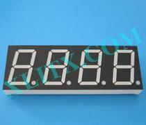 "Red Ultra Bright LED 7 Segment Display 0.8 inch 0.8"" Four Digit Common Anode CA 0.80inch"