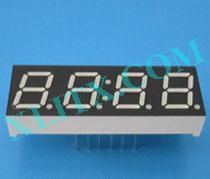 Yellow Green LED 7 Segment 0.39 inch 4 Digit Four Display Common Cathode CC