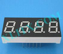 Yellow Green LED 7 Segment 0.4 inch 0.40 4 Digit Four Display Common Cathode CC