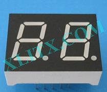 Yellow Green LED 7 Segment 0.5 inch 0.50 2 Digit Dual Display Common Cathode CC