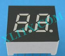 "Yellow LED Seven Segment Display 0.3"" Dual Digit 2 0.3 Common Cathode CC"