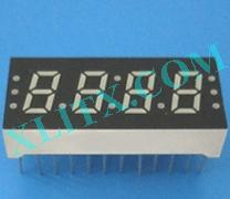 "Yellow LED Seven Segment Display 0.3"" Four Digit 4 0.3 Common Cathode CC"