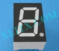 "Yellow LED Seven Segment Display 0.52"" Single Digit 1 Common Cathode CC"