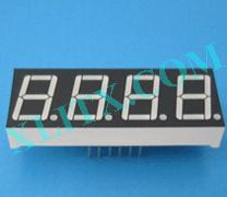 "Yellow LED Seven Segment Display 0.56"" Four Digit 4 Common Cathode CC"