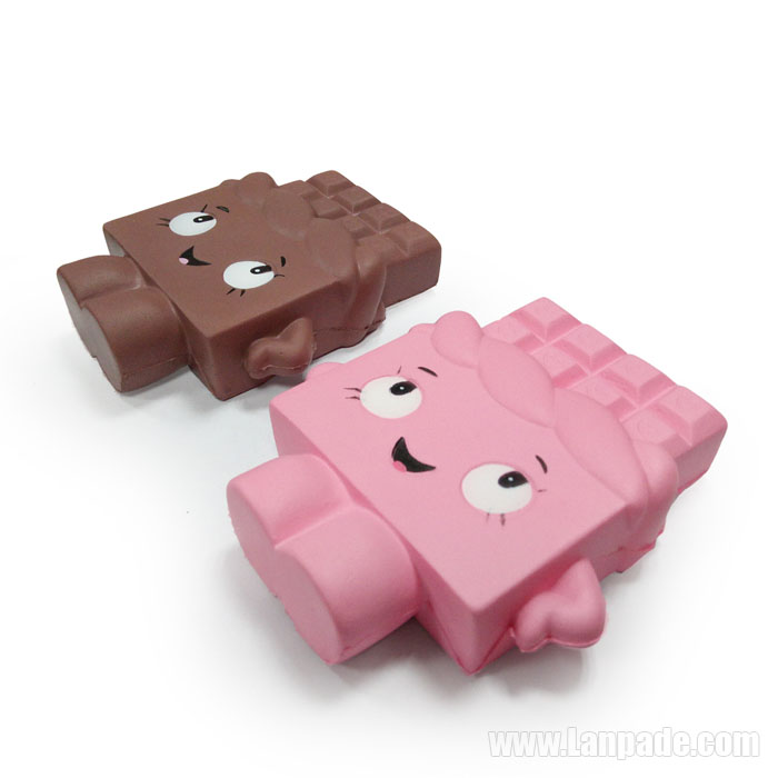 Choc Squishy Chocolate Imitation Squishies Toys Jumbo Choco Kawaii Perfume Slow Rising DHL Free Shipping