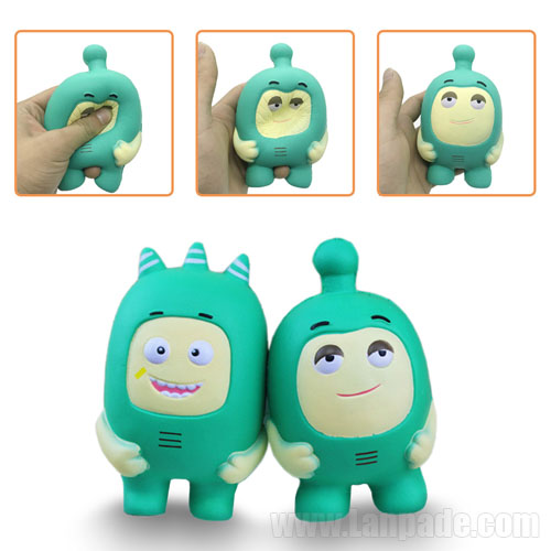 Squishies Soldier New Toys Kawaii Squishy Jumbo Green Cartoon Relaxation Kids Scent Slow Rising Free Shipping