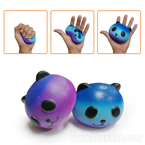 Squishy Toys Blue Panda Jumbo Squishies Bun Bear Cat Sky Slow Rising Food Dhl Free Shipping